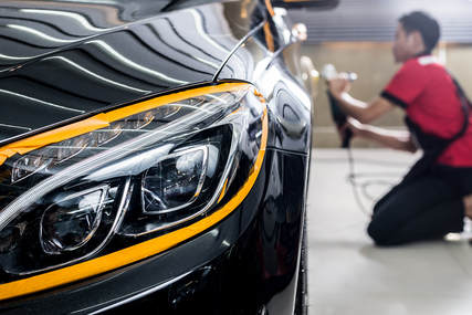 Car auto detailing black paint protection Little Rock, AR